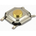 Pulsador Tact Switch SMD de 5.2x5.2x1.7mm
