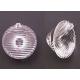 Lente acrílica Carclo de 20mm Elliptical 6x25º
