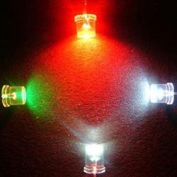 Led Superbrillo Flat-Top cabeza plana 3mm