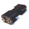 Porta pilas-baterías 2 x aa-14500 para Clip