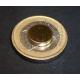 Imanes discos de 10x2mm Oro