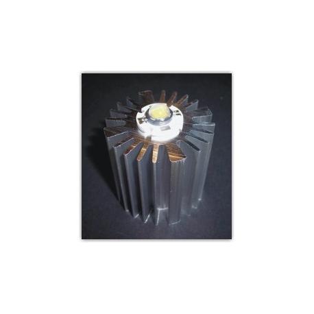 Radiador Disipador térmico de aletas de 50x50mm