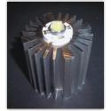 Disipador térmico de aletas de 50mm Virgen