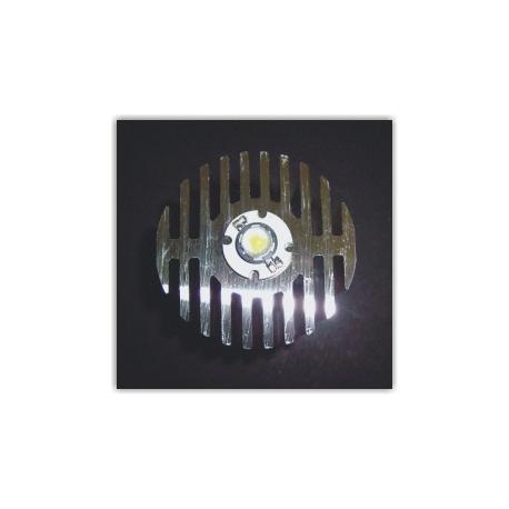 Radiador Disipador térmico de aletas de 60x50mm