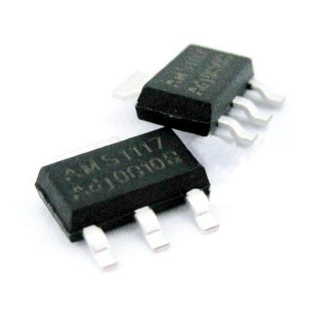 1117 smd I.C. de 0.8A ajustable