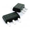 Series 1117 smd I.C. de voltaje 0.8/1A
