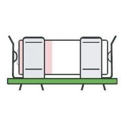 Clip Abrazadera para Porta Pilas y Baterías