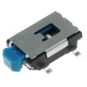 Pulsador Tact Switch lateral de 7x5.4x1.7mm