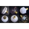 Porta Lámparas para Led 80mm