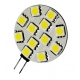 Led G4 12 led SMD 5050 30mm Blanco Cálido