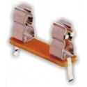 Portafusibles de circuito impreso Baquelita 5x20mm