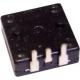 Interruptor cuadrado 9.5x9.5mm On-Off de pulsador