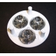 Reflector MultiLed de 50mm para 4 Led SSC P4