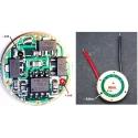 Regulador de Corriente 5 Modos para Linternas Led 3w 1A