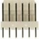 Conectores Molex paso 2.50mm 6pin