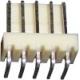 Conectores Molex Acodado paso 2.54mm 5pin