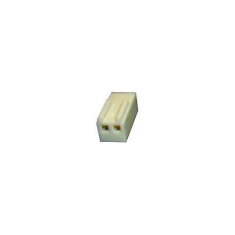 Conectores Molex Hembra paso 2.54mm 2 pin