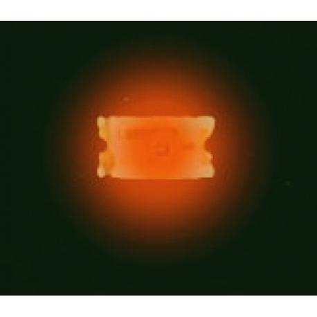 Diodo Led Smd 0603 naranja