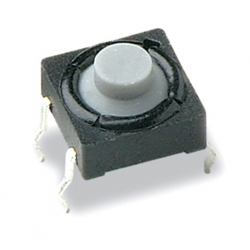 Pulsador Tact Switch boton de goma de 7.80x5mm