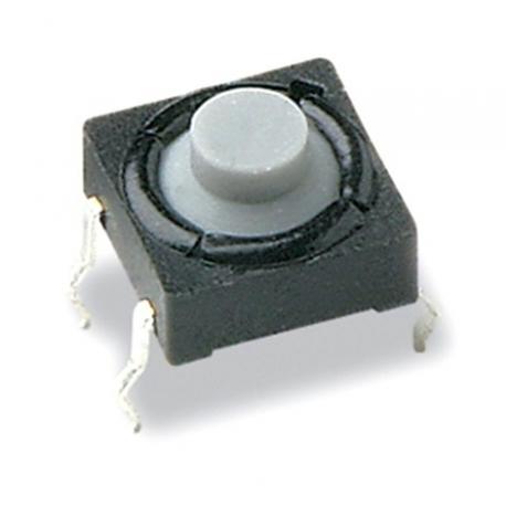 Pulsador Tact Switch boton de goma de 7.80x5mm