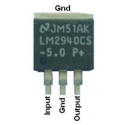 LM2940CS smd Regulador Low Drop 1A