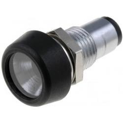 Mirilla de metal para Led 5mm con cristal