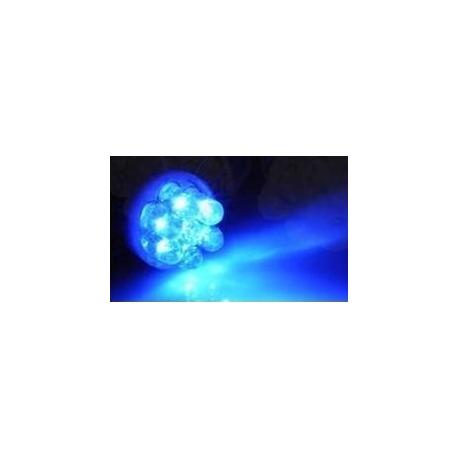 LED T10 7 Led 12v Azul