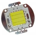 Led Cob 30w de potencia 30 chip Blancos, colores y RGB
