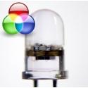 Led de 10mm RGB Flash-Intermitente
