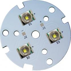 Circuito Impreso 45mm para 3 Led CREE XRE