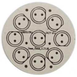 Circuitos Impresos para 9 Led 3mm, 5mm
