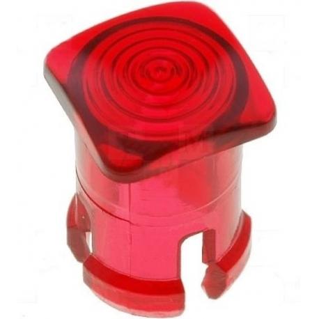 Embellecedores para Led de 5mm Rojo