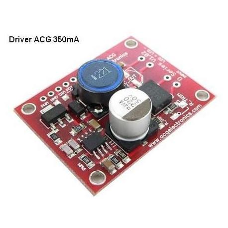 Driver regulador de corriente para LED 9-40v dc 350mA
