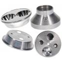 Reflector Aluminio 53x14mm para Led Cree y Xenón