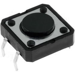 Pulsadores 12x12mm Tact Switch THT