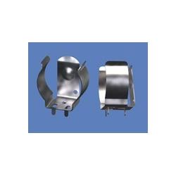 Clip portapilas metálico para baterías 18650