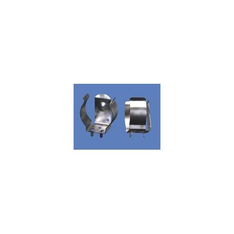 Clip metálico para baterías 18650