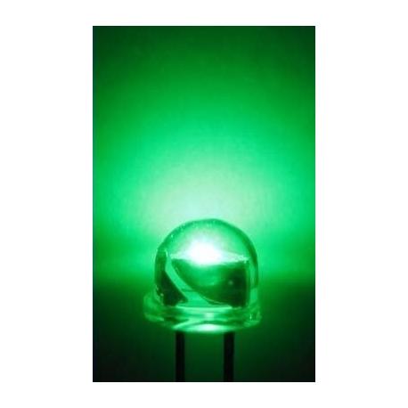 Led Bombín de 4.8mm 120º Verde