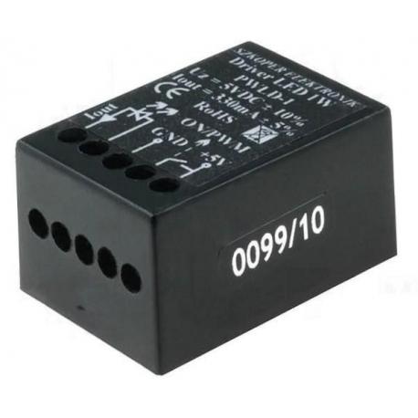 Driver regulador de corriente para Led encapsulado