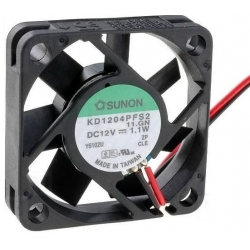 Ventilador refrigeración de disipadores de 40x40mm