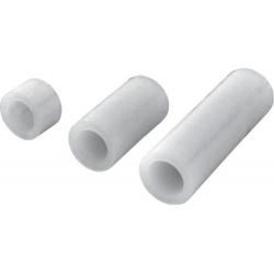Separadores Tubos de Nylon Blancos de 6mm