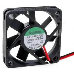 Ventilador refrigeración de 12v.de 45x45x10mm