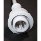 Conector IP65 4pin macho para Tiras de Led