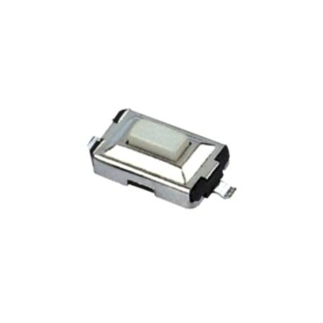 Pulsador Tact Switch SMD de 6.5x3.5x3mm blanco