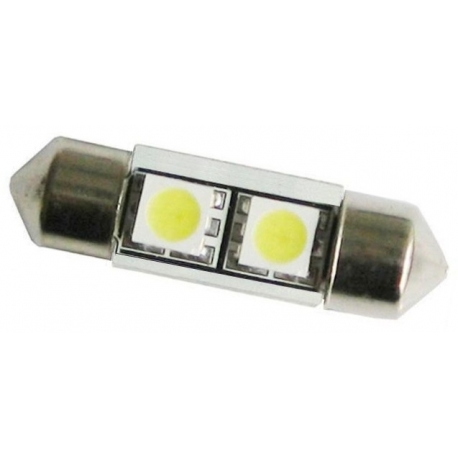 Festoon 2 LED SMD 5050 de 31mm