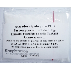 Persulfato de Sodio-Atacador Rápido para Circuitos Pcb