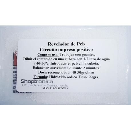 Revelador para circuitos impresos-Pcb