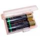 Caja protección de Baterías 2xAA/AAA/10440/1450