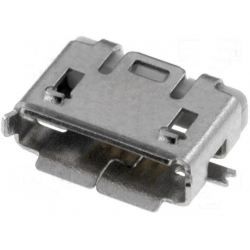 Conector Micro USB AB-Hembra SMD 5 pin