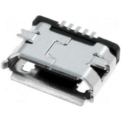 Conector Micro USB B-Hembra SMD 5 pin